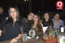Grecia Tua Espinoza, Liz Torres, Mayerling Torres, Melissa Magaña y Chendo Espinoza