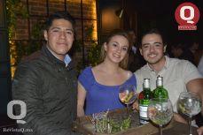 Jorge Arturo García, Paola Orozco y Joaquín Fonseca