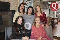Clare Portillo, Lydia García, Adriana Estrada, Adriana Ruiz y Martha Herrera