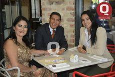 Erika Cano, Chuy Rocha y Susey Arías.