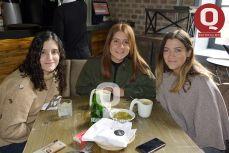 Fernanda Plata, Daniela Ampudia y Regina Mendieta