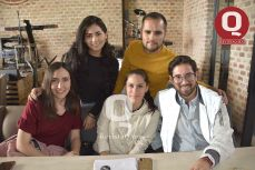 Gisel Trujillo, Jorge Pacheco, Nayeli González, Camila Ferrari y Oscar Torres.
