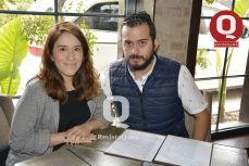Gisela Rojas y Alejandro López