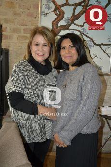 Tere González y Lydia García