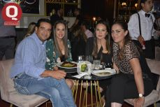 Octavio Arredondo, Raquel Ascencio, Erandi Cordero y Pamela Muiño