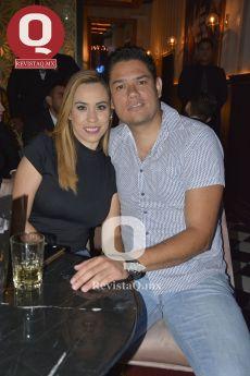 Guadalupe Padilla y Manuel Araiza