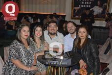Miryam Márquez, Melanie Márquez, Ángel Barrera, Omar Hernández y Giovanna Márquez