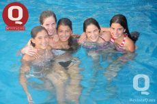 Ale Aranda, Sofía Mena, Majo Flores, Ingrid Martínez y Victoria Álvarez del Castillo