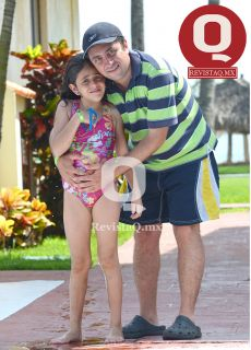 Mauricio Pascalis e hija