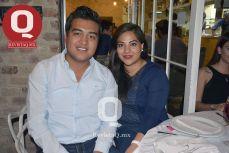 Jonathan Meza y Lorena Solorio