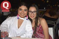 Melissa Noriega y Karla Fonseca