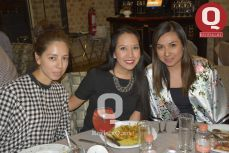Gema Lira, Nancy Campos y Ruby Quesada