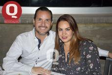 Héctor Araujo y Paulina Castellanos