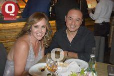 Suny Padilla y Óscar Piñón