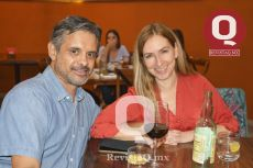 Gabriel García y Mari Ascencio