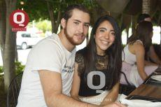 Gerardo Huacuja y Brenda Ruiz
