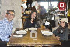 Jorge Hernández, Erika Hernández y Mía Hernández