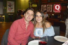 José Bayod y Karla Moreno