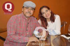 José Luis Rivera Hernández y Silvia Márquez