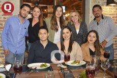José Luis Zamora, Daniela Araujo, Valeria Araujo, Ana Orozco, Federico Araujo, Raúl Ramírez, Mariela Araujo, Renata Araujo