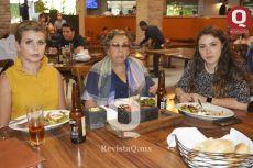 Lety Briseño, Esther Rizo y Daniela González
