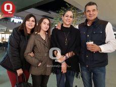 Malu Villegas, Mary Carmen Vilegas y Juan Pablo Ramírez