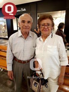 Héctor Caldera y Marcia Ofelia Hernández