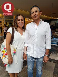 Marimar González y Julio Medina