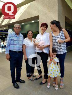 Ramonete Torres, Luz María Negrete, Marisa Garza de Márquez, Arabella Márquez y Arabella Guemes