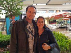 Diego Ortuño y Mariana Plasencia