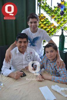 Fernando Torres Dávalos, Fernando Torres Graciano y Patricio Torres Dávalos