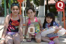 Karol Geraldine Magaña, Ximena Magaña y Renata Martínez