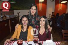 Mayra Rodríguez, Araceli Mascorro y Mayra Montero