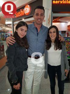 Regina García, Christian Garcia y Andrea García
