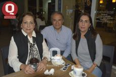 Miriam Pacheco, Memo Romero Pacheco y Miriam Romero