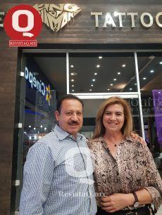 Armando Atilano y Coco Romero de Atilano