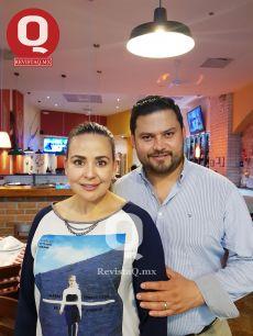 Miriam de Cruz y Christian Cruz