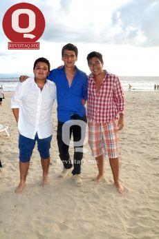 Samuel Moreno, Alfredo Legaspi y Efren León