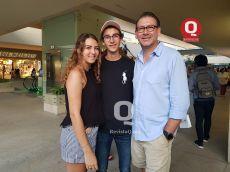 Miguel Romero e hijos