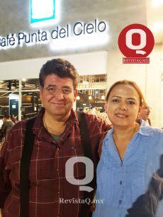 Pepe Romo y Gisela Cabeza de Vaca