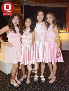 Alejandra Leyva, Dania Marín, Melissa Choi y Giovanna Cardoso