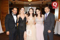 Luis Carlos Marín, Fanny Solís, Aranza Marín, Margarita Reynoso y Luis Ramón  Martínez