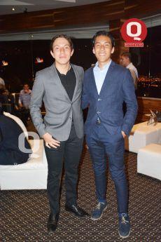 Manolo Bedia y Diego Flores