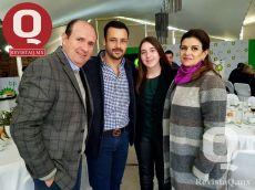 Lalo Lomelín, Chisco Ramírez y Paulina Lomelín