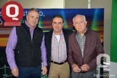 Miguel Arena, Fernando Lomeílín y Toño Lomelín