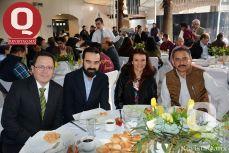 Roberto Rodríguez, Mauricio Aristegui, Liliana Aceves y Juan Pablo Aguilera
