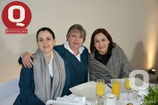 Silvia Muñoz de Calleja, Susana Aguilera y Angélica Jamit