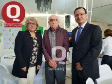 Teresita Gallardo, Don Antonio Lomelín Guerra y Arturo Aceves