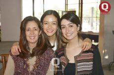 María Muñoz, Andrea Ibarra y Ana Karen Ibarra