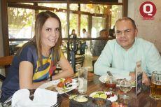 Marcela Martínez y Daniel Martínez
